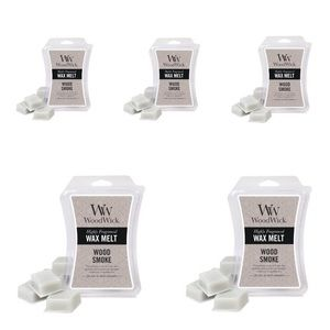 "5 Pc WoodWick Wax Melts ""Woodsy Scent"